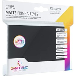 Clear Prime Sleeves - Standard Card (200) - Gamegenic (66x91 mm)