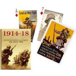 Carte à jouer - Piatnik 1914-18 - 54 cartes