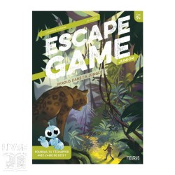Escape Game Junior - Perdus dans la jungle (Livre)