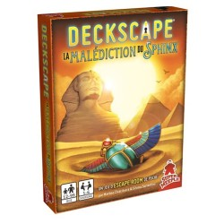 Deckscape La malédiction du Sphinx