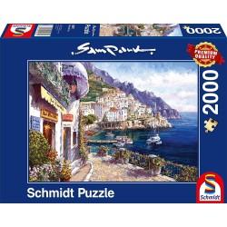 Puzzle 2000 pièces - Map Art