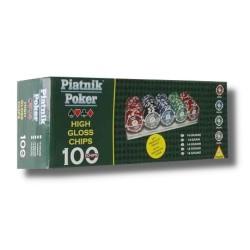 Jetons de Poker / Poker Chips Piatnik (100)