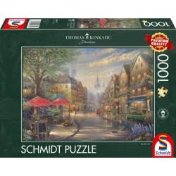 Puzzle 1'000 pièces - Un café à Munich