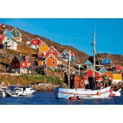 Puzzle 1'000 pièces - Maisons nordiques