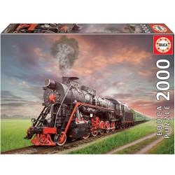 Puzzle 2'000 pièces - Locomotive à vapeur