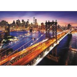 Puzzle 3'000 pièces - Manhattan au crépuscule