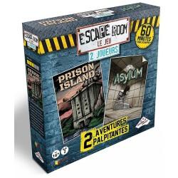 Escape Room - 2 joueurs : Prison Island + Asylum