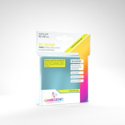 Clear Sleeves - Big Square Card (50) - Gamegenic (82x82 mm)