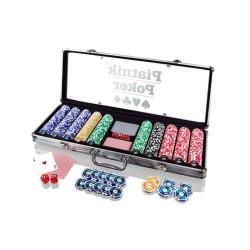 Malette de poker 500 jetons