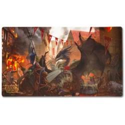 Tapis de jeu - Dragon Shield Playmat - Valentine Dragons