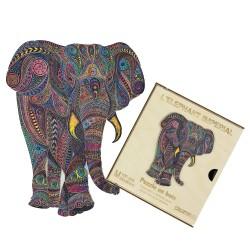 Puzzle créatif - Eléphant impérial