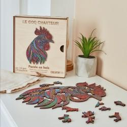 Puzzle créatif - Coq chanteur