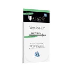 Clear Sleeves - Premium Queen Tarot Card (55) - Paladin (61x112 mm, Gudrun)