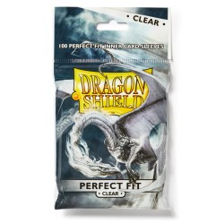 Inner/Perfect Fit Sleeves Dragon Shield - 63x88mm (100)